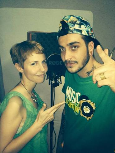 Riddim Tuffa feat Ponchita Peligros & Lasai - Recorded inna Jump and Prance Studio.