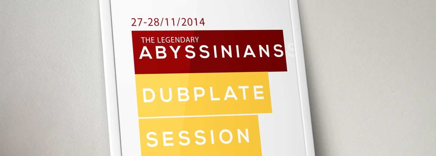The Abyssinians dubplate Session - Dubmix Service - Supah Frans