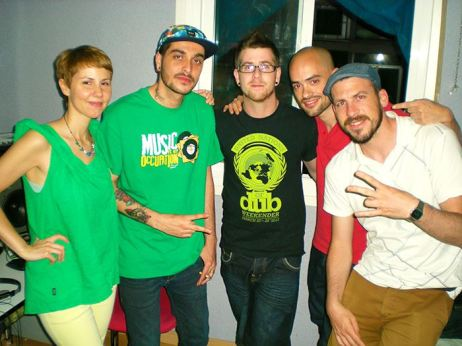 Ponchita Peligros, Lasai, Adam (Riddim Tuffa), Yeyo Pérez & Supah Frans at Jump & Prance Studio (Madrid)