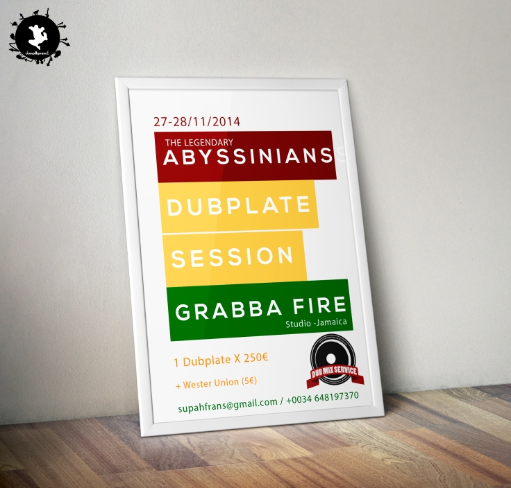 The Abyssians Dubplate session - Dubmix Service - Supah Frans