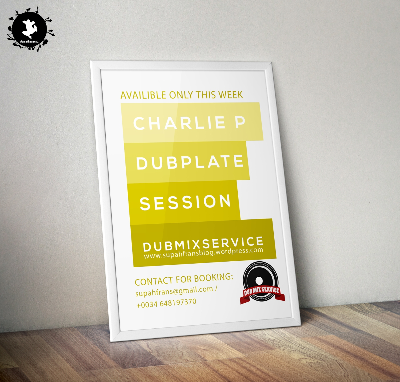 Charlie P Dubplate Session - Dubmix Service - Supah Frans