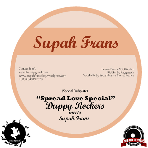 Alberto Genovese - Duppy Rockers Band - Dupblate for Supah Frans.
