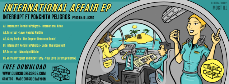 International Affair Ep - Ponchita Peligros and Interrupt - Cubículo Records