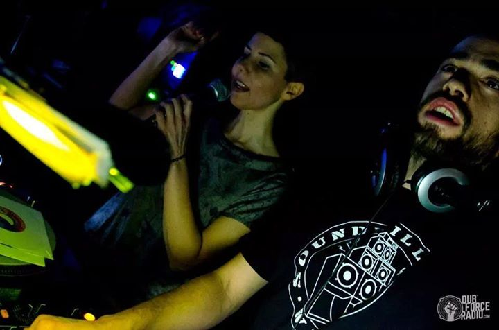 Supah Frans and Ponchita Peligros - Dubforce Radio Party - Sala Sirocco (Madrid)