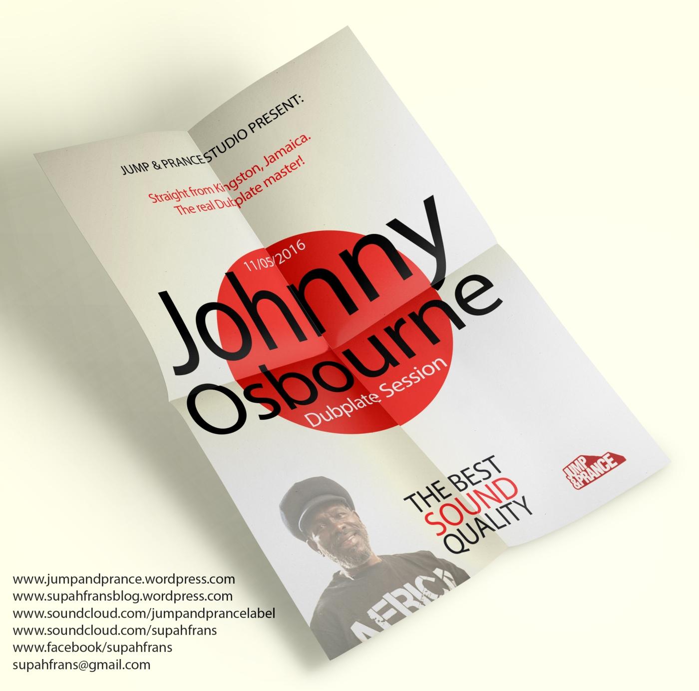 11/05/2016 - Johnny Osbourne Dubplate Session at Jump & Prance Studio (Supah Frans)
