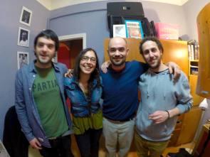 Irie Nanara - Human Selecta & Aaron D visits Jump & Prance Studio