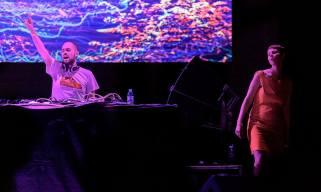 Supah Frans & Ponchita Peligros - Sala La Riviera - Madrid - Outlook Launch Party