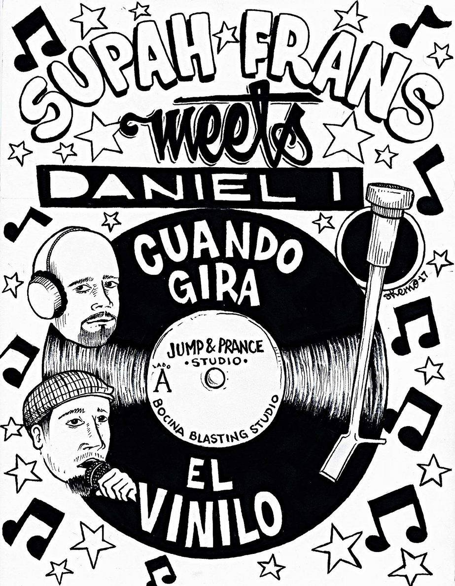 Supah Frans, Daniel I, Cuando gira el vinilo, libre descarga, freedwonload, jump and prance label