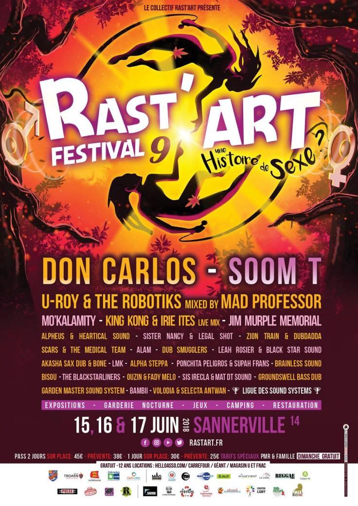 rastart, festival, don carlos, mad professor, soomt, reggae, ponchita peligros, supah frans, france, king kong, uroy.jpg